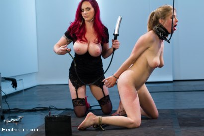 Photo number 2 from Mz Berlin takes Electrosluts by storm! Penny tries her best to please. shot for Electro Sluts on Kink.com. Featuring Penny Pax and Mz Berlin in hardcore BDSM & Fetish porn.