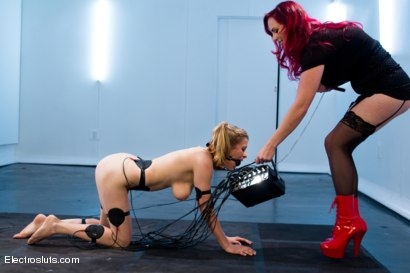 Photo number 9 from Mz Berlin takes Electrosluts by storm! Penny tries her best to please. shot for Electro Sluts on Kink.com. Featuring Penny Pax and Mz Berlin in hardcore BDSM & Fetish porn.