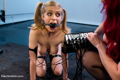 Photo number 10 from Mz Berlin takes Electrosluts by storm! Penny tries her best to please. shot for Electro Sluts on Kink.com. Featuring Penny Pax and Mz Berlin in hardcore BDSM & Fetish porn.