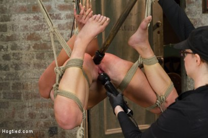 Photo number 12 from Bringing Home The Gold shot for Hogtied on Kink.com. Featuring Mia Gold in hardcore BDSM & Fetish porn.