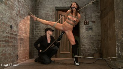 Photo number 15 from Bringing Home The Gold shot for Hogtied on Kink.com. Featuring Mia Gold in hardcore BDSM & Fetish porn.
