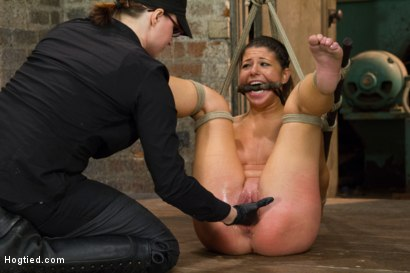 Photo number 10 from Bringing Home The Gold shot for Hogtied on Kink.com. Featuring Mia Gold in hardcore BDSM & Fetish porn.