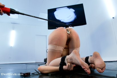Photo number 16 from Missy Minks is FINALLY back for Electrosex!! shot for Electro Sluts on Kink.com. Featuring Bobbi Starr and Missy Minks in hardcore BDSM & Fetish porn.