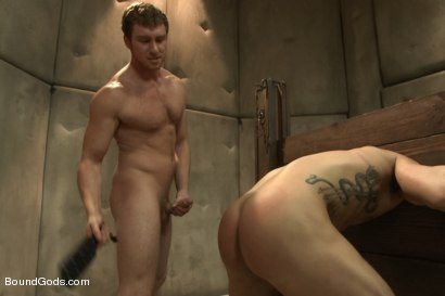 Photo number 12 from Bryan Cole's Obsession and Infatuation shot for Bound Gods on Kink.com. Featuring Connor Maguire and Bryan Cole in hardcore BDSM & Fetish porn.