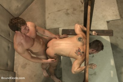 Photo number 14 from Bryan Cole's Obsession and Infatuation shot for Bound Gods on Kink.com. Featuring Connor Maguire and Bryan Cole in hardcore BDSM & Fetish porn.