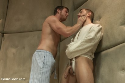 Photo number 3 from Bryan Cole's Obsession and Infatuation shot for Bound Gods on Kink.com. Featuring Connor Maguire and Bryan Cole in hardcore BDSM & Fetish porn.