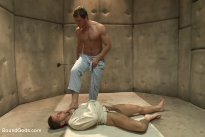 Photo number 4 from Bryan Cole's Obsession and Infatuation shot for Bound Gods on Kink.com. Featuring Connor Maguire and Bryan Cole in hardcore BDSM & Fetish porn.