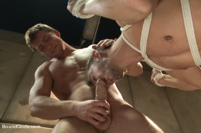 Photo number 9 from Bryan Cole's Obsession and Infatuation shot for Bound Gods on Kink.com. Featuring Connor Maguire and Bryan Cole in hardcore BDSM & Fetish porn.