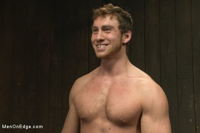 Photo number 15 from The Orgazmatron shot for Men On Edge on Kink.com. Featuring Connor Maguire in hardcore BDSM & Fetish porn.