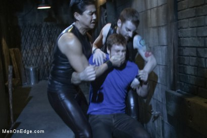 Photo number 1 from The Orgazmatron shot for Men On Edge on Kink.com. Featuring Connor Maguire in hardcore BDSM & Fetish porn.