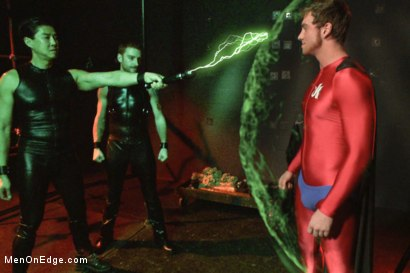 Photo number 5 from The Orgazmatron shot for Men On Edge on Kink.com. Featuring Connor Maguire in hardcore BDSM & Fetish porn.