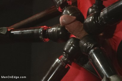 Photo number 12 from The Orgazmatron shot for Men On Edge on Kink.com. Featuring Connor Maguire in hardcore BDSM & Fetish porn.