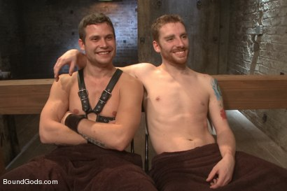 Photo number 15 from New Dom Hayden Richards Fucks and Fists Slave #316 shot for Bound Gods on Kink.com. Featuring Hayden Richards and Sebastian Keys in hardcore BDSM & Fetish porn.
