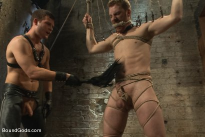 Photo number 9 from New Dom Hayden Richards Fucks and Fists Slave #316 shot for Bound Gods on Kink.com. Featuring Hayden Richards and Sebastian Keys in hardcore BDSM & Fetish porn.