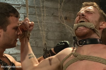 Photo number 10 from New Dom Hayden Richards Fucks and Fists Slave #316 shot for Bound Gods on Kink.com. Featuring Hayden Richards and Sebastian Keys in hardcore BDSM & Fetish porn.