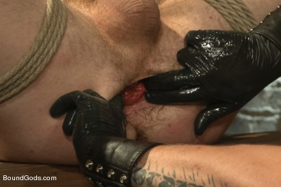 Photo number 13 from New Dom Hayden Richards Fucks and Fists Slave #316 shot for Bound Gods on Kink.com. Featuring Hayden Richards and Sebastian Keys in hardcore BDSM & Fetish porn.