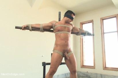 Photo number 5 from Bodybuilder Marcus Ruhl Edged for the First Time shot for Men On Edge on Kink.com. Featuring Marcus Ruhl in hardcore BDSM & Fetish porn.