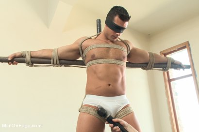 Photo number 2 from Bodybuilder Marcus Ruhl Edged for the First Time shot for Men On Edge on Kink.com. Featuring Marcus Ruhl in hardcore BDSM & Fetish porn.