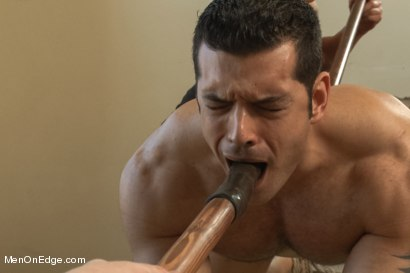 Photo number 11 from Bodybuilder Marcus Ruhl Edged for the First Time shot for Men On Edge on Kink.com. Featuring Marcus Ruhl in hardcore BDSM & Fetish porn.