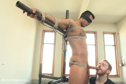 Photo number 4 from Bodybuilder Marcus Ruhl Edged for the First Time shot for Men On Edge on Kink.com. Featuring Marcus Ruhl in hardcore BDSM & Fetish porn.