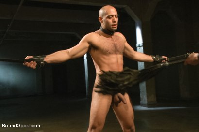 Photo number 7 from The Legend, The Present and The Future shot for Bound Gods on Kink.com. Featuring Leo Forte, Hayden Richards and Van Darkholme in hardcore BDSM & Fetish porn.