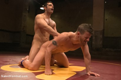 "Photo number 13 from Marcus ""Titan"" Ruhl vs Jeremy ""Stonewall"" Stevens - Muscled Oil Match! shot for Naked Kombat on Kink.com. Featuring Marcus Ruhl and Jeremy Stevens in hardcore BDSM & Fetish porn."