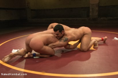 "Photo number 4 from Marcus ""Titan"" Ruhl vs Jeremy ""Stonewall"" Stevens - Muscled Oil Match! shot for Naked Kombat on Kink.com. Featuring Marcus Ruhl and Jeremy Stevens in hardcore BDSM & Fetish porn."