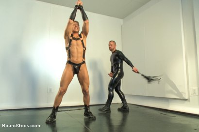 Photo number 7 from Onyx Transformation  shot for Bound Gods on Kink.com. Featuring Alex Adams and Adam Herst in hardcore BDSM & Fetish porn.