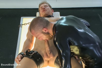 Photo number 3 from Onyx Transformation  shot for Bound Gods on Kink.com. Featuring Alex Adams and Adam Herst in hardcore BDSM & Fetish porn.