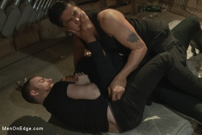 Photo number 2 from Straight Cop Robert Axel  shot for Men On Edge on Kink.com. Featuring Robert Axel in hardcore BDSM & Fetish porn.