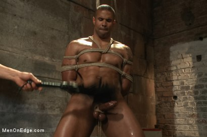 Photo number 6 from Straight Cop Robert Axel  shot for Men On Edge on Kink.com. Featuring Robert Axel in hardcore BDSM & Fetish porn.