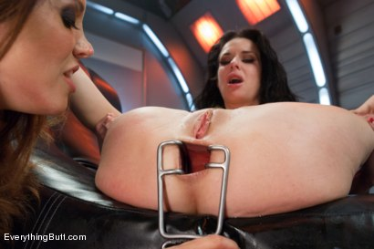 Photo number 11 from Smoking Hot Anal MILF!  Veronica Avluv shot for Everything Butt on Kink.com. Featuring Veronica Avluv and Francesca Le in hardcore BDSM & Fetish porn.