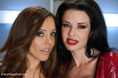 Photo number 15 from Smoking Hot Anal MILF!  Veronica Avluv shot for Everything Butt on Kink.com. Featuring Veronica Avluv and Francesca Le in hardcore BDSM & Fetish porn.