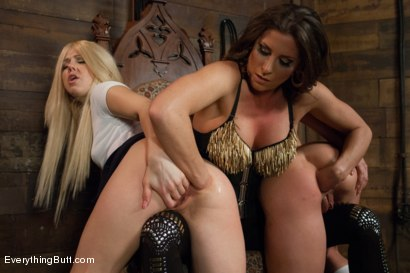 Photo number 4 from Rosy Bottoms!  Extreme Anal Content! shot for Everything Butt on Kink.com. Featuring Ariel X, Amy Brooke and Holly Hanna in hardcore BDSM & Fetish porn.