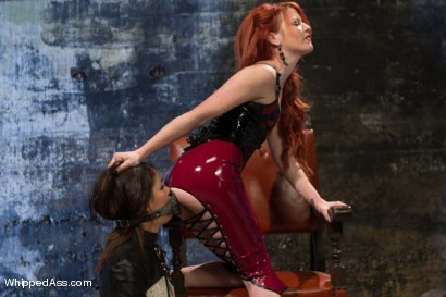 Photo number 15 from Elle Alexandra, gorgeous redhead dominatrix punishes Mia Gold! shot for Whipped Ass on Kink.com. Featuring Elle Alexandra and Mia Gold in hardcore BDSM & Fetish porn.