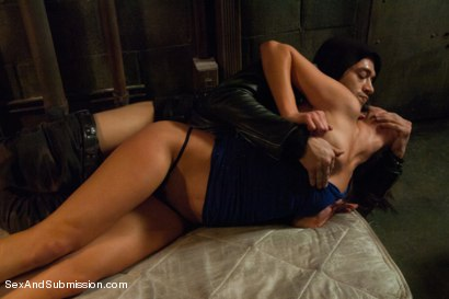 Photo number 4 from Dark Alley Fantasy shot for Sex And Submission on Kink.com. Featuring Xander Corvus and Anna Morna in hardcore BDSM & Fetish porn.