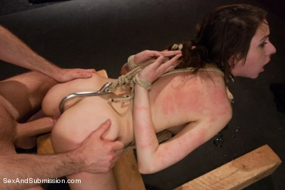 Photo number 10 from Fresh Meat Slave Slut shot for Sex And Submission on Kink.com. Featuring James Deen and Luna C. Kitsuen in hardcore BDSM & Fetish porn.