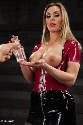 Photo number 8 from You are the LAST one to Penetrate Tanya Tate, A FemDom POV fantasy shot for Kink Test Shoots on Kink.com. Featuring Tanya Tate in hardcore BDSM & Fetish porn.