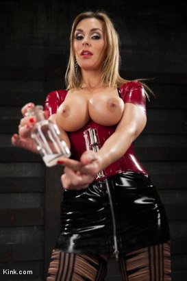 Photo number 11 from You are the LAST one to Penetrate Tanya Tate, A FemDom POV fantasy shot for Kink Test Shoots on Kink.com. Featuring Tanya Tate in hardcore BDSM & Fetish porn.
