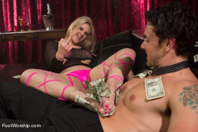 Photo number 14 from Foot Fetish In The Champagne Room  shot for Foot Worship on Kink.com. Featuring Ryan Driller and Sarah Vandella in hardcore BDSM & Fetish porn.