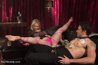 Photo number 6 from Foot Fetish In The Champagne Room  shot for Foot Worship on Kink.com. Featuring Ryan Driller and Sarah Vandella in hardcore BDSM & Fetish porn.