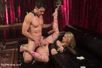 Photo number 8 from Foot Fetish In The Champagne Room  shot for Foot Worship on Kink.com. Featuring Ryan Driller and Sarah Vandella in hardcore BDSM & Fetish porn.