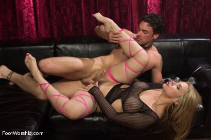 Photo number 9 from Foot Fetish In The Champagne Room  shot for Foot Worship on Kink.com. Featuring Ryan Driller and Sarah Vandella in hardcore BDSM & Fetish porn.