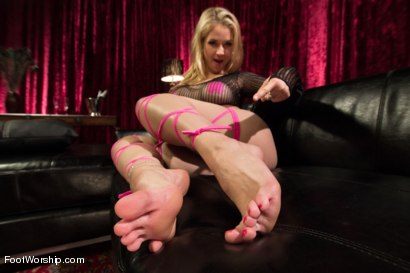 Photo number 1 from Foot Fetish In The Champagne Room  shot for Foot Worship on Kink.com. Featuring Ryan Driller and Sarah Vandella in hardcore BDSM & Fetish porn.