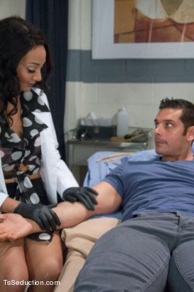 Photo number 1 from The Nurse is in Your Ass with Her Cock shot for TS Seduction on Kink.com. Featuring Marcus Ruhl and Sunshyne Monroe in hardcore BDSM & Fetish porn.