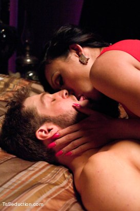 Photo number 5 from Revenge Fuck: Venus Kills Jealousy w/Her Cock & Her Ex-BF's Tight Hole shot for tsseduction on Kink.com. Featuring Venus Lux and Andrew Blue in hardcore BDSM & Fetish porn.