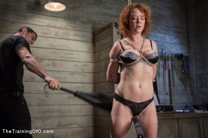 Photo number 4 from The Training of a Party Girl, Day One shot for The Training Of O on Kink.com. Featuring Audrey Hollander in hardcore BDSM & Fetish porn.