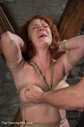 Photo number 14 from The Training of a Party Girl, Day One shot for The Training Of O on Kink.com. Featuring Audrey Hollander in hardcore BDSM & Fetish porn.