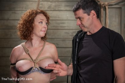 Photo number 5 from The Training of a Party Girl, Day One shot for The Training Of O on Kink.com. Featuring Audrey Hollander in hardcore BDSM & Fetish porn.