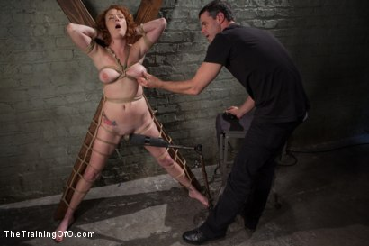 Photo number 11 from The Training of a Party Girl, Day One shot for The Training Of O on Kink.com. Featuring Audrey Hollander in hardcore BDSM & Fetish porn.